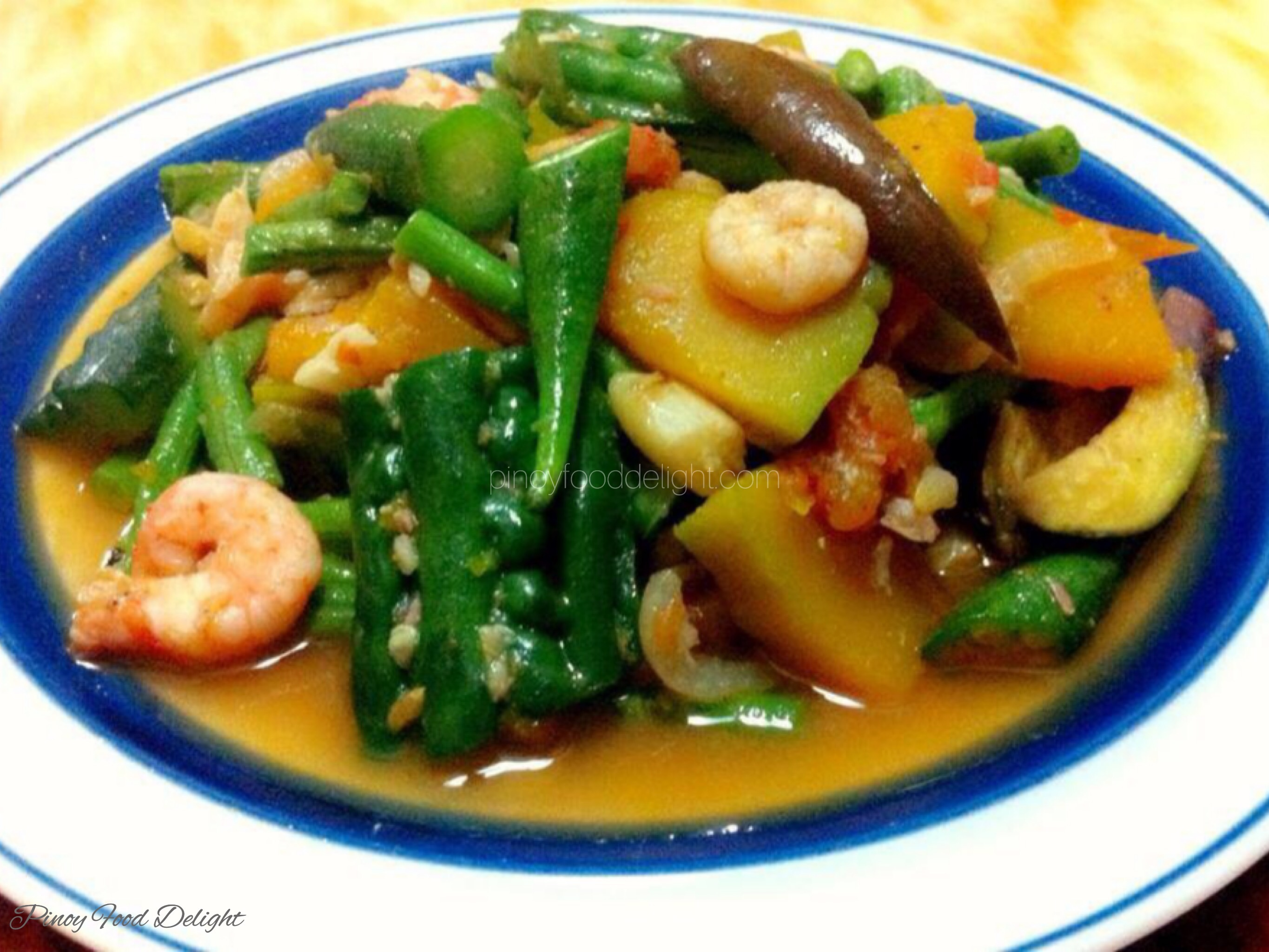 Pinakbet Pinoy Food Delight